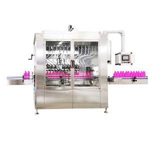 Maszyna do napełniania płynem butelek typu grawitacyjnego