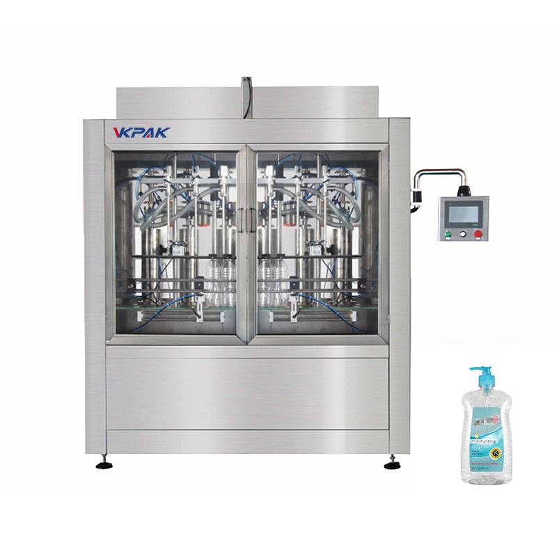 Automatyczna maszyna do napełniania tłoków dezynfekujących