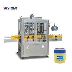 Automatyczna linia do napełniania i chłodzenia wazeliną