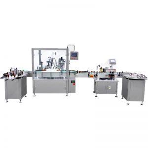 Maszyna do napełniania olejem, korkowania i zamykania
