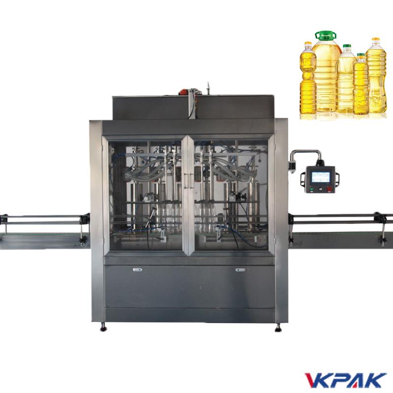 Maszyna do napełniania butelek z tłokiem