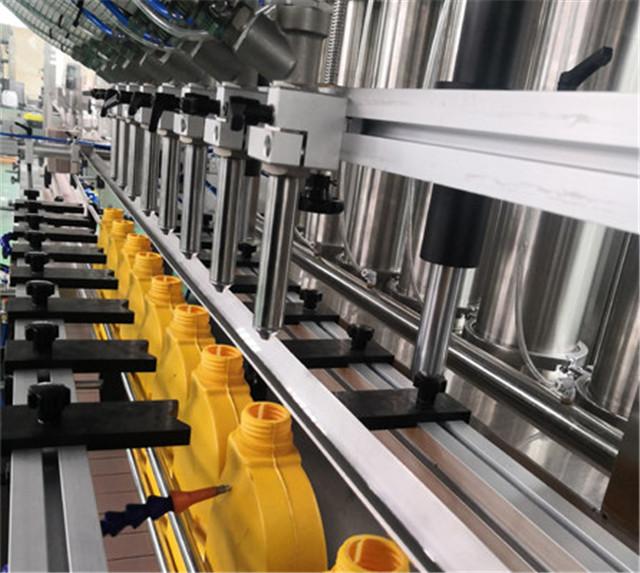 Szczegóły maszyny do napełniania tłoków